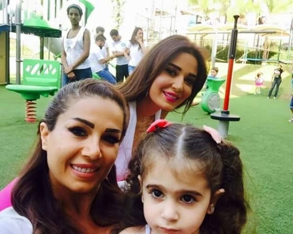 سيرين عبد النور وابنتها تاليا