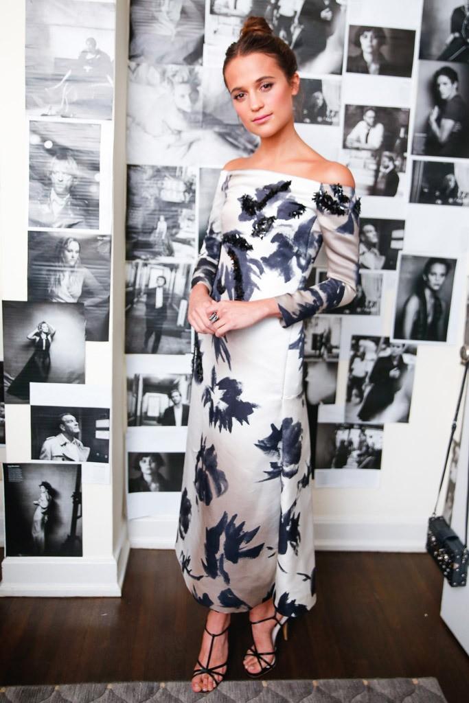 Alicia Vikander - W Magazine Best Performances Golden Globe Party