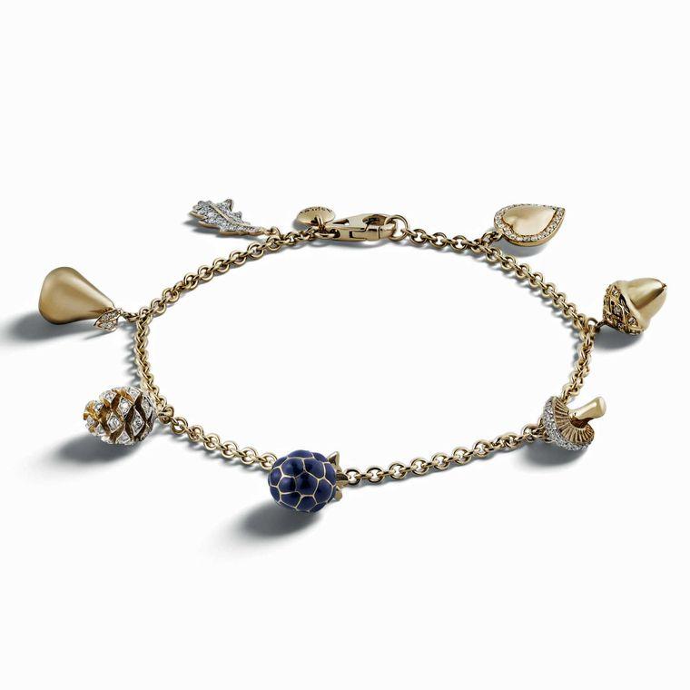 Asprey Mini Charms Bracelet