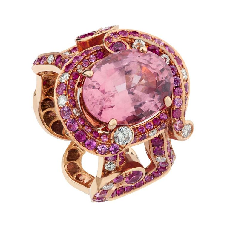 Faberge Rococco Ring