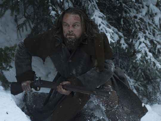 Leonardo DiCaprio stars as frontiersman Hugh Glass in  The Revenant