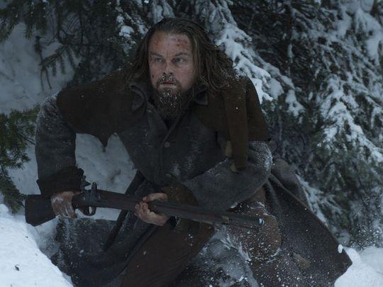 Leonardo DiCaprio stars as frontiersman Hugh Glass in  The Revenant