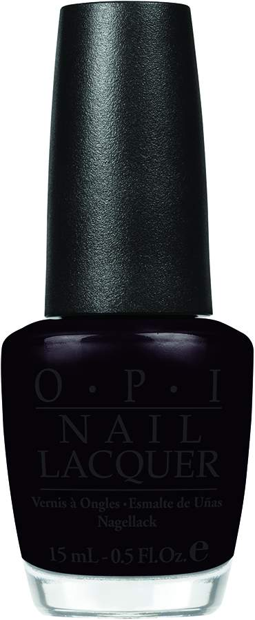 OPI - Beyonce - Lady In Black - color swatch - AED49 (2)