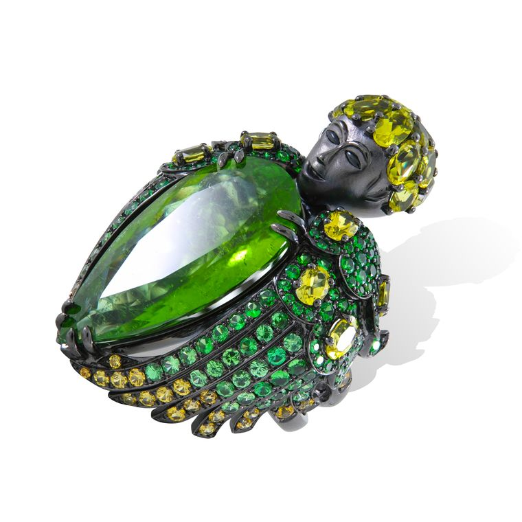 lydia_courteille_queen_of_sheba_green_tourmaline_ring
