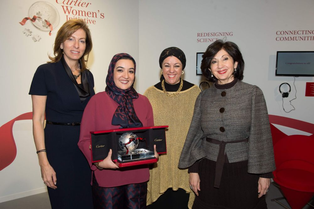 resized_2015 MENA Laureate with Jury members Copyright Cartier