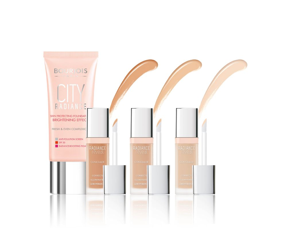 resized_Bourjois - City Radiance - Foundation_Concealer - Group shot 1