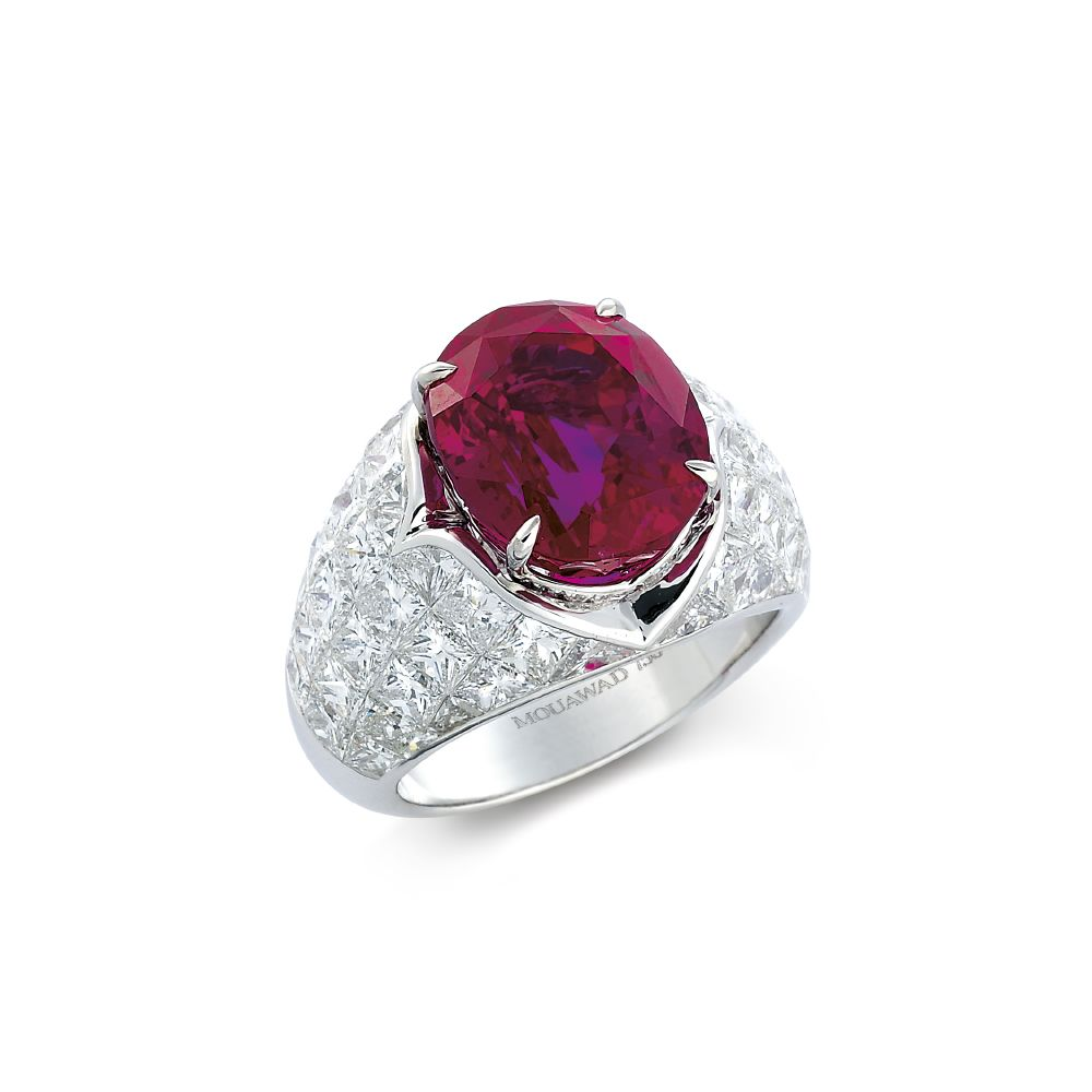 resized_Burmese Fire in Ice Wave Diamond & Ruby Suite_Ring