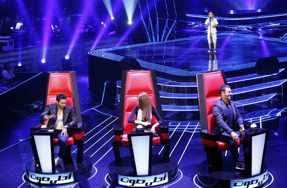 resized_MBC1 & MBC MASR the Voice Kids S1 - Blind 5 - Tamer's team - Ahmad AlSisi (2)