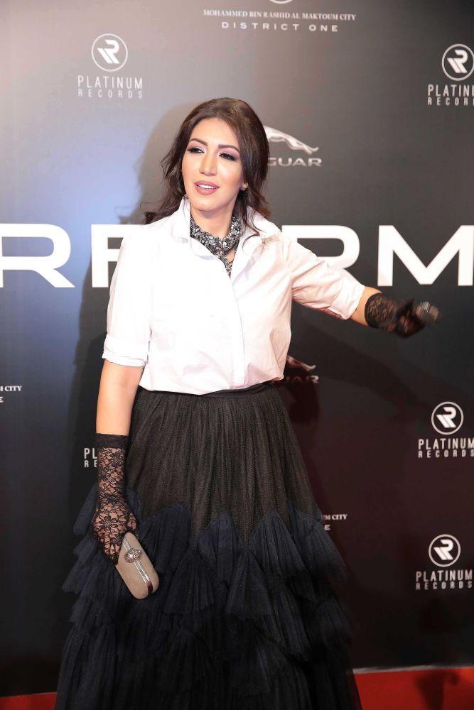 resized_Platinum Gala Event- Red Carpet- Asmaa Lmnawar