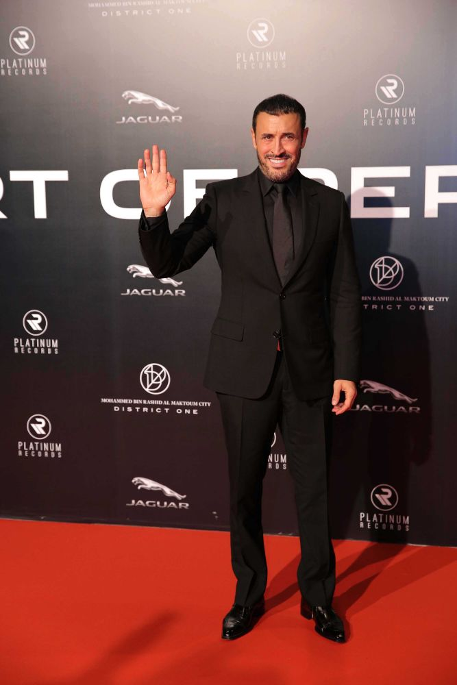 resized_Platinum Gala Event- Red Carpet- Kadim Al Sahir 1