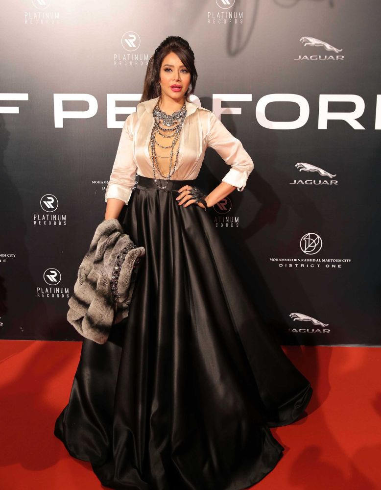 resized_Platinum Gala Event- Red Carpet- Lujain Omran