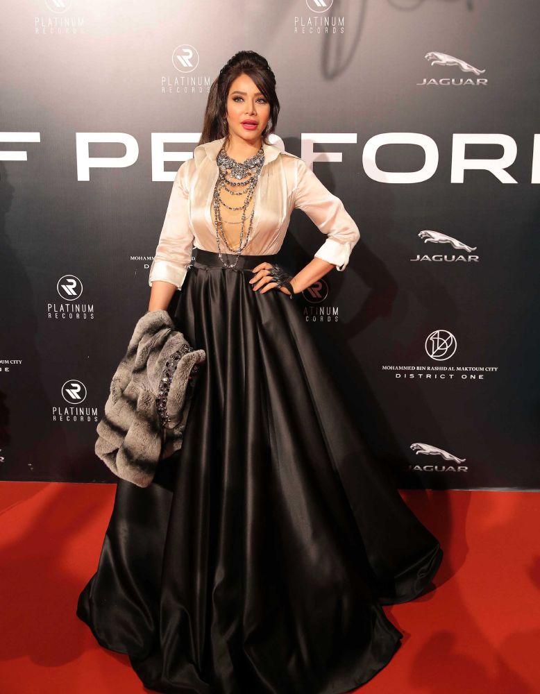 resized_Platinum Gala Event- Red Carpet- Lujain Omran