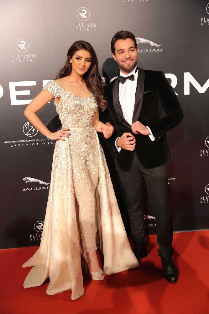 resized_Platinum Gala Event- Red Carpet-Mariam Said & Basel Azaro