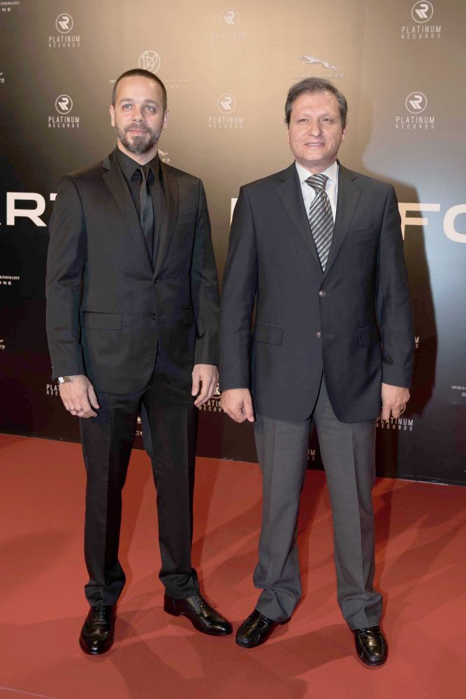 resized_Platinum Gala Event- Red Carpet- Michel Fadel & Nizar Franscis