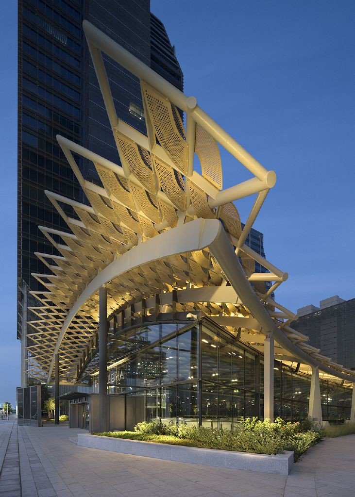 resized_The Galleria - Exterior Entrance Angle