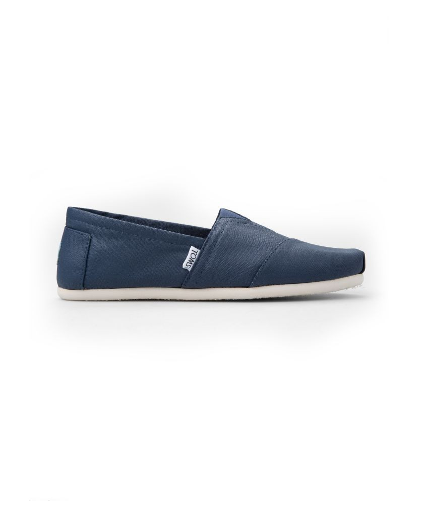 resized_Toms - Estate Blue Coated Canvas Men's Classics - AED 299 at SIVVI.com