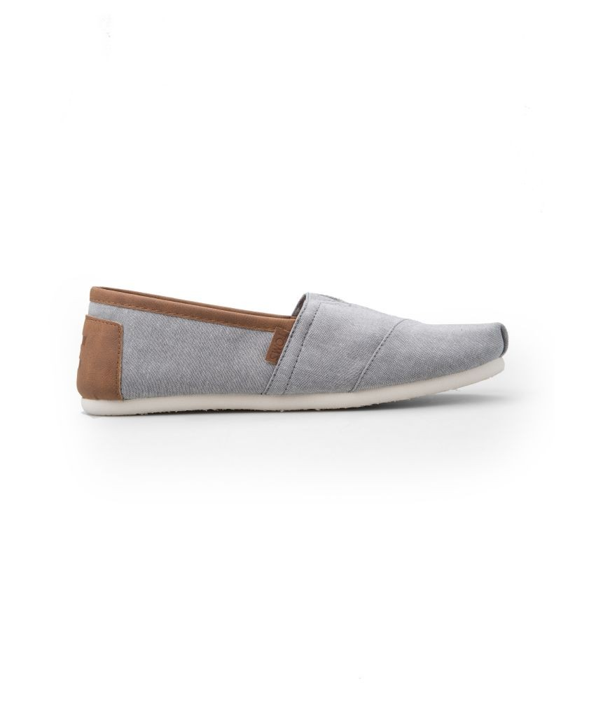 resized_Toms - Frost Grey Chambray Men's Classics - AED 349 at SIVVI.com