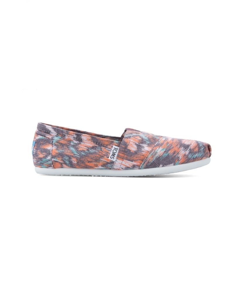 resized_Toms - Watercolour Multi Canvas Ikat Women's Classics - AED 299 at SIVVI.com