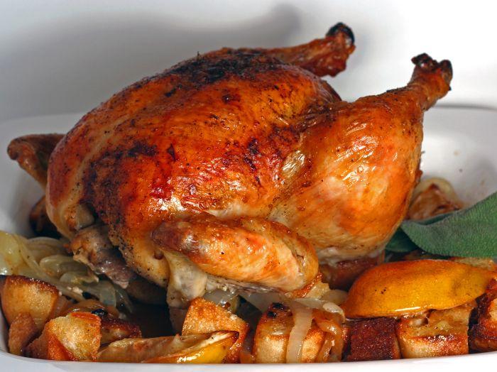 الدجاج بتتبيلة الشاورما