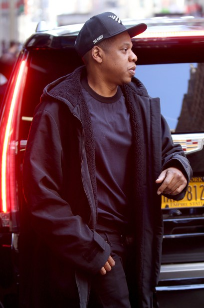 *EXCLUSIVE* Jay Z has a father daughter day with Blue Ivy