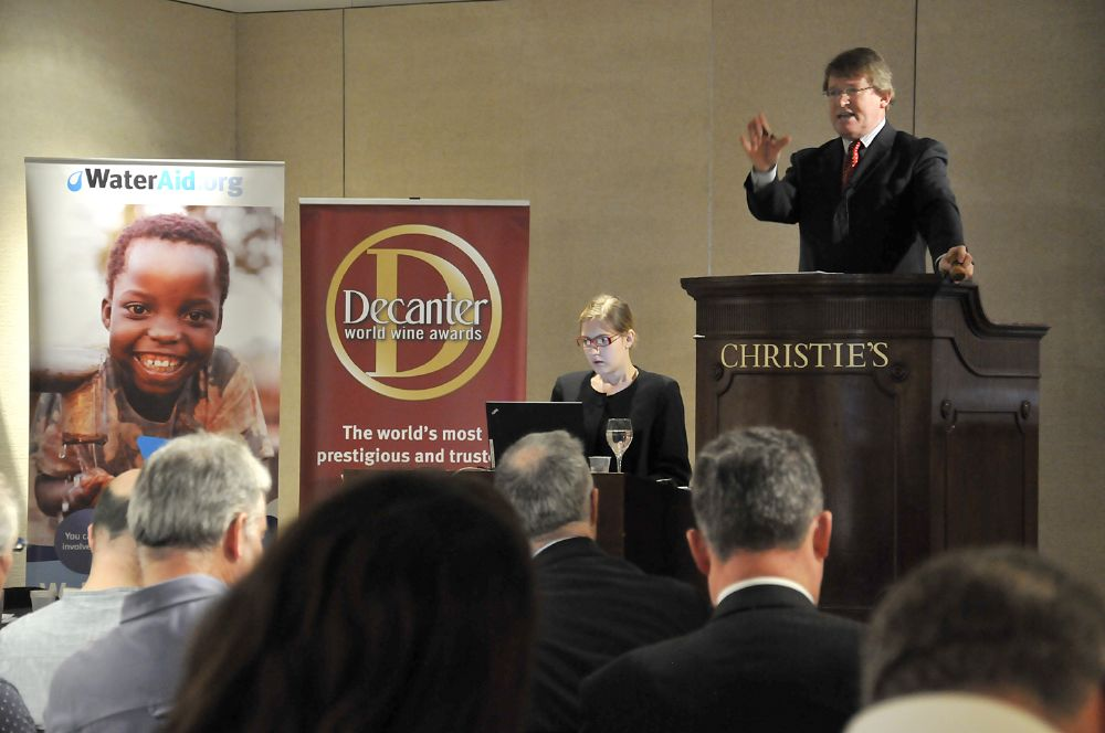 Christie's DWWA auction for WaterAid hits new high