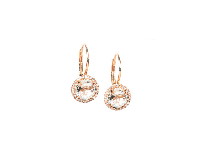 Diamond-White-Topaz-Drop-Earrings- ef collection