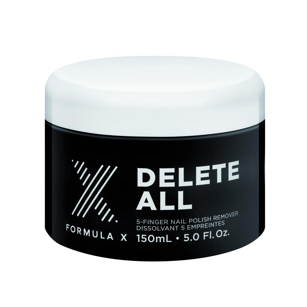 Formula X Delete All Five-finger Nail-polish Remover - AED 120