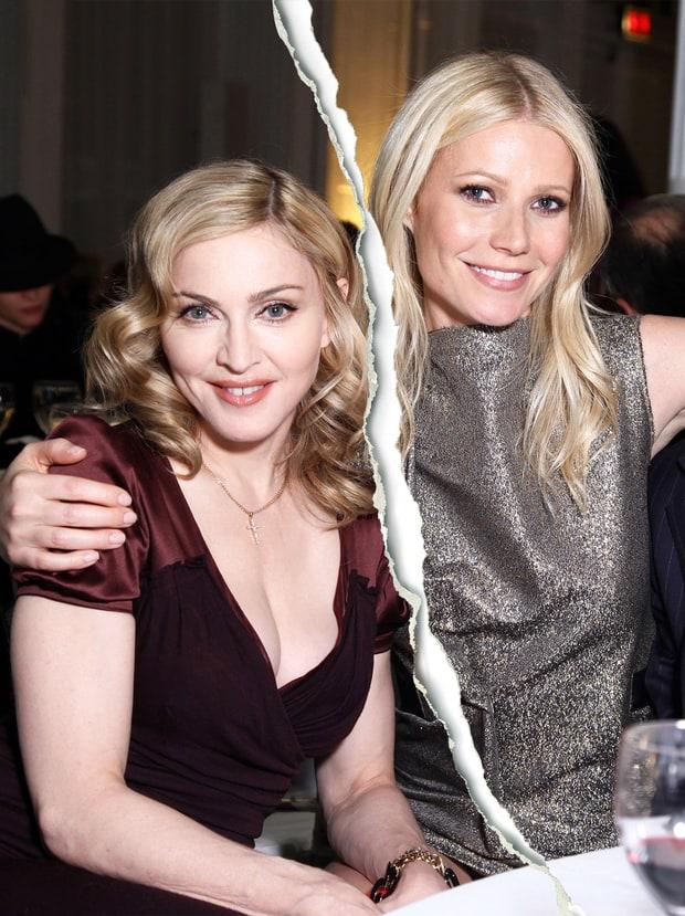 Madonna and Gwyneth Paltrow