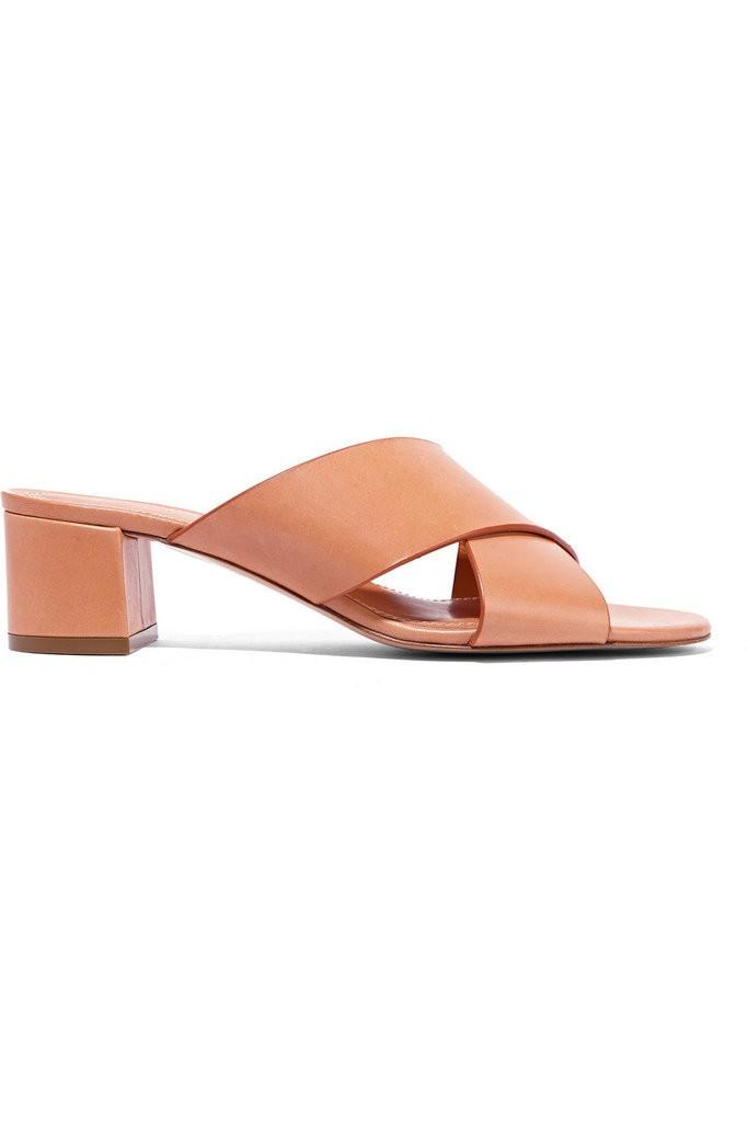 Mansur-Gavriel-Leather-Mules-475