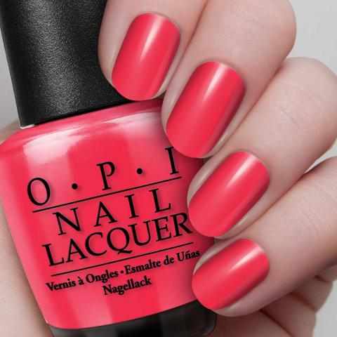 OPI - Women's Day - OPI Red - hand visual - AED49