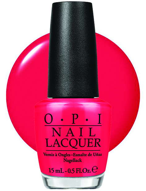 OPI - Women's Day- OPI Red - with swatch - AED 49