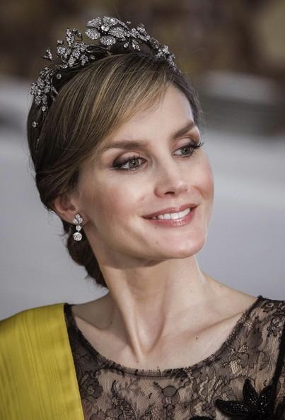 Queen Letizia of Spain Gemstone Tiara
