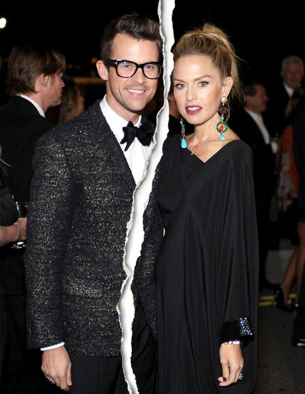 Rachel Zoe and Brad Goreski