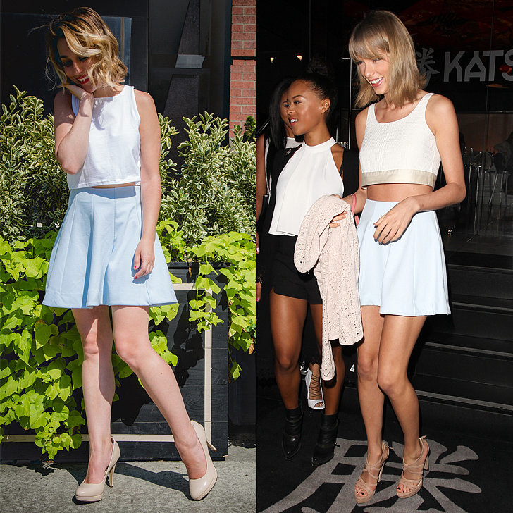 Taylor-loves-simple-blue-skirt-she-worn-public
