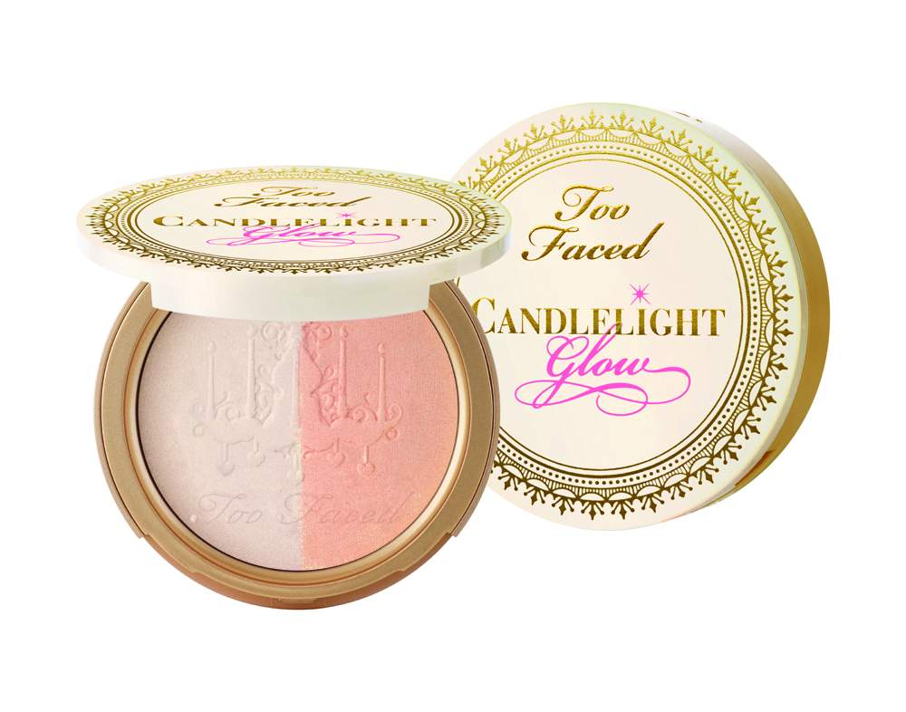 Too Faced Candlelight Glow Highlighting Powder Duo in Warm Glow - AED 135
