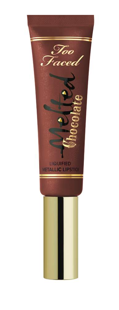 Too Faced Melted Chocolate Liquified Lipstick - Metallic Candy Bar - AED 106