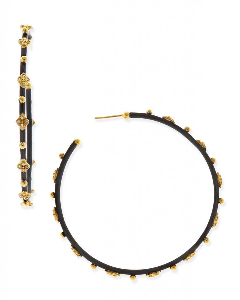 armenta-silver-diamond-cravelli-cross-large-hoop-earrings