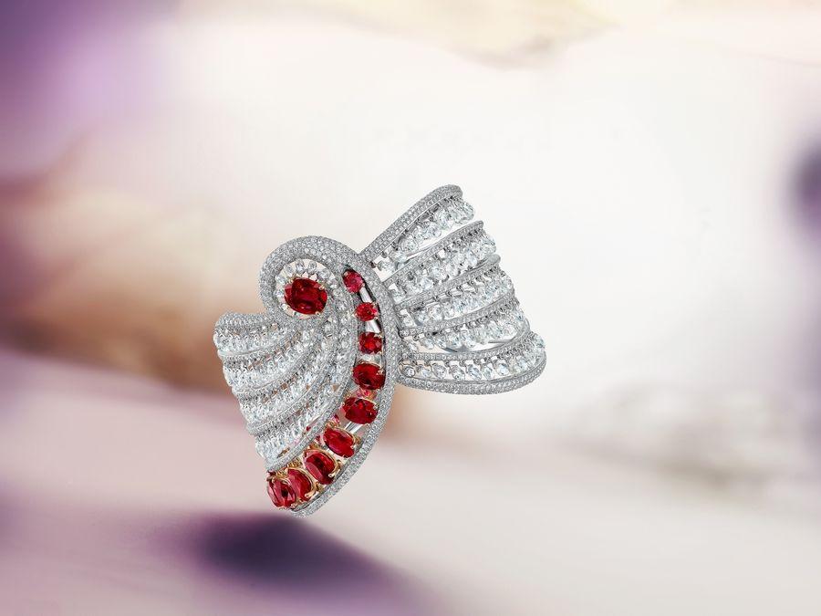 resized_اسوارة الماس و روبي من مجموعة The Oriental Ballet