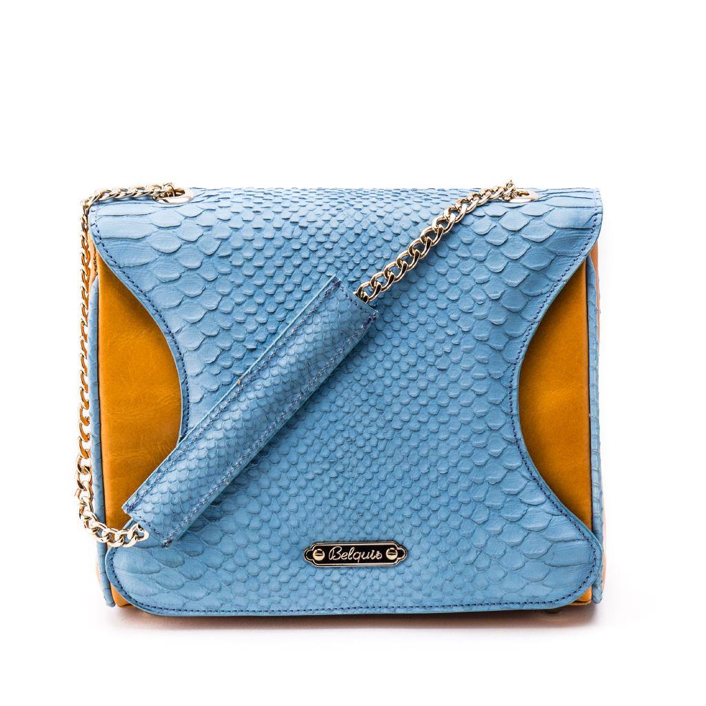 resized_Gabriella Flapbag in Orange Caramel Crocodile Print_AED 4500