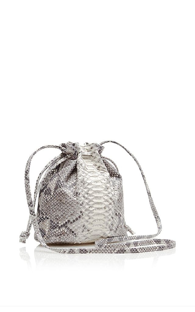 resized_HUNTING SEASON Python Small Bucket Bag $695