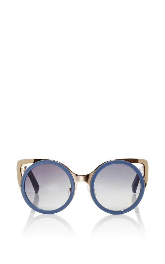 resized_LINDA FARROW Two Toned Sunglasses With Gradient $400