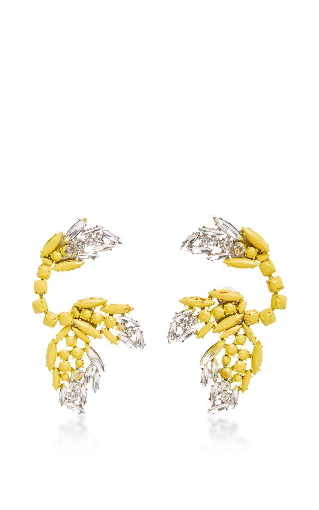 resized_MARNI Crystal Drop Earrings $1,065
