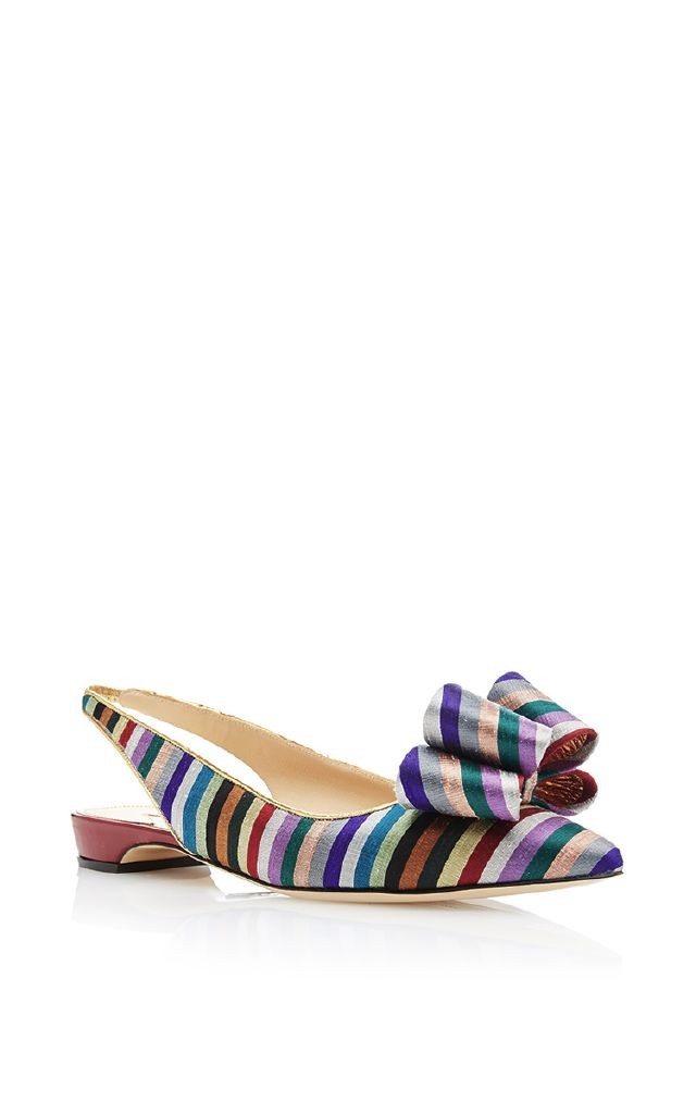 resized_PAUL ANDREW Printed Bow Sling Back $695