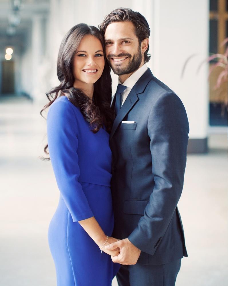 الأمير كارل فيليب وزوجته الأميرة صوفيا (1)