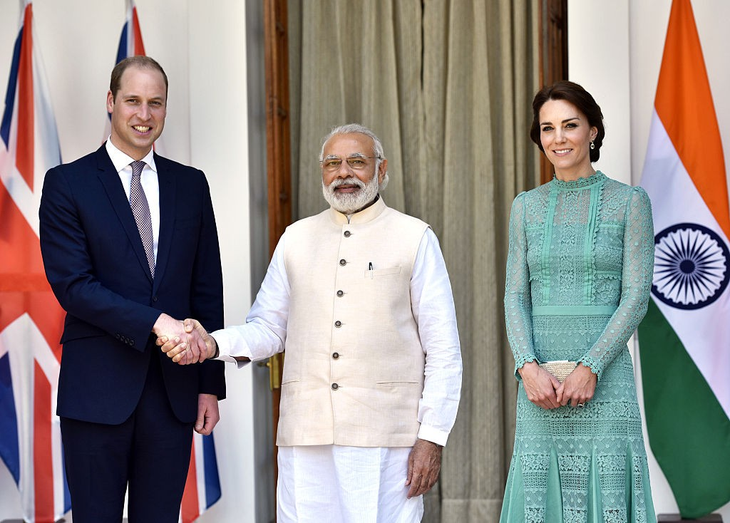 British Royals Visit: Prince William And Kate Middleton Meet Prime Minister Narendra Modi