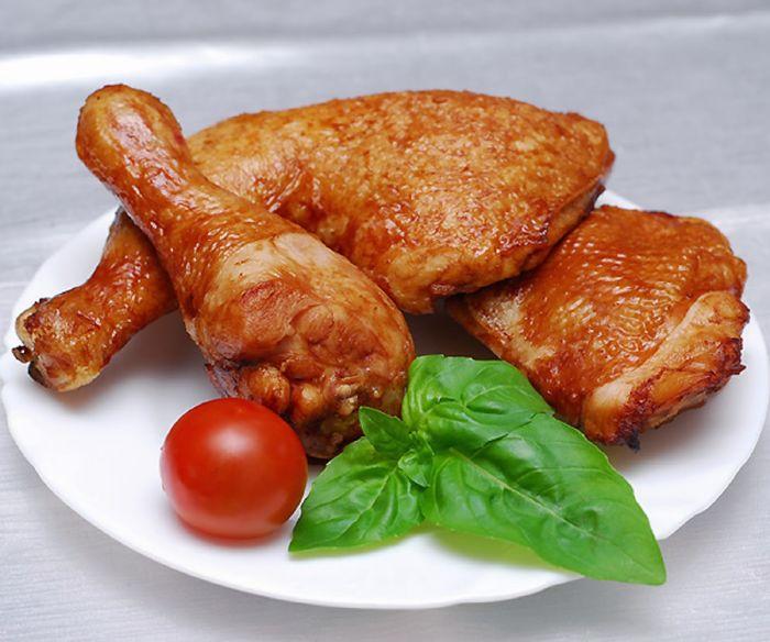 دجاج بالمَرق الحار