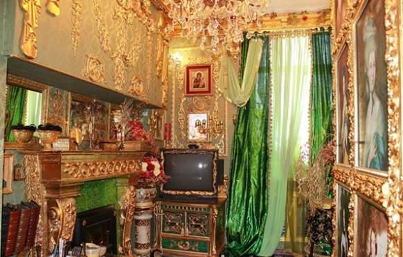 شقة مطلية بالذهب (3)
