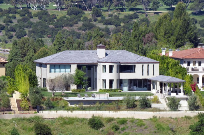EXCLUSIVE: Kim and Kanye finally move into their remodeled Bel Air Mansion in LA!