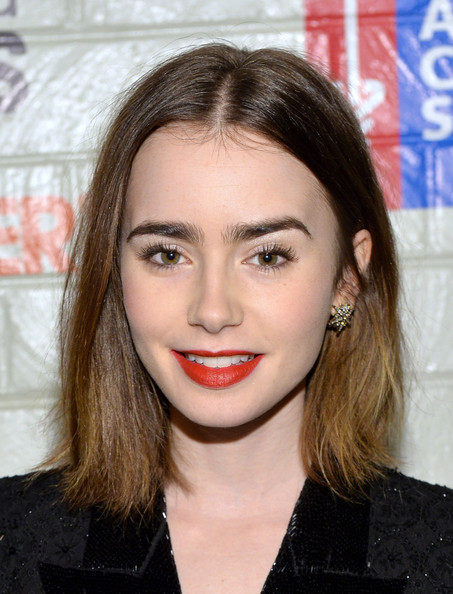 2013 Lily Collins - H. Stern Jewelry