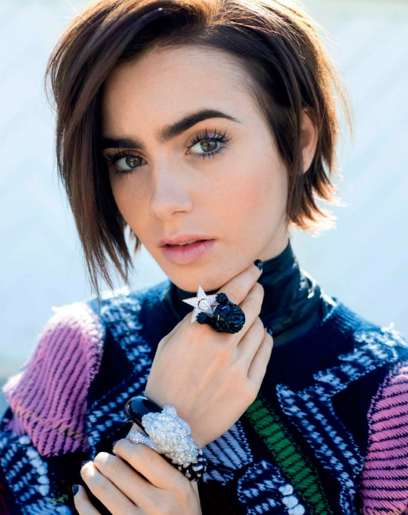 2016 Lily Collins - Chanel Jewelry